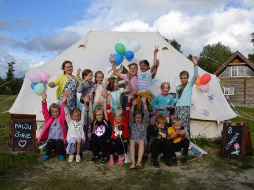 Laste sünnipäevad Kalurikülas