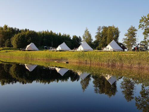 Glamping Pop-Up hotell Lux