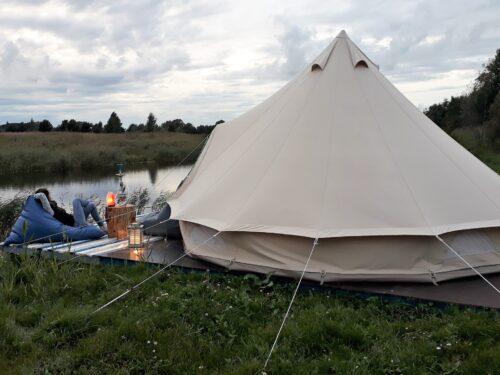 Glamping Pop-Up hotell
