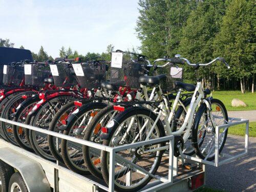 Jalgrattarent täiskasvanule ja lapsele