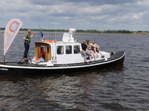 Giidiga kalapüügireis Pärnu lahel või jõel