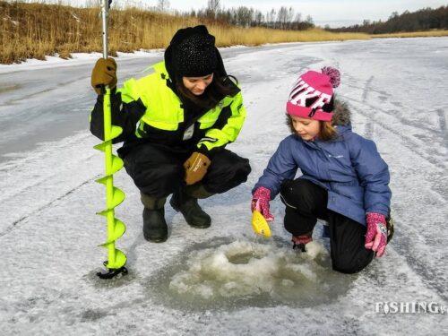 Jääpüügi kogemus Kalurikülas