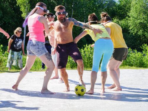 Pime-libe jalgpall